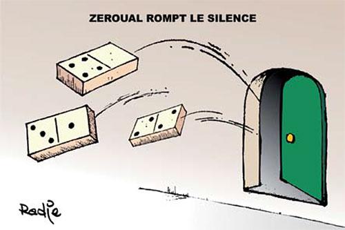 Zeroual rompt le silence - Ghir Hak - Les Débats - Gagdz.com