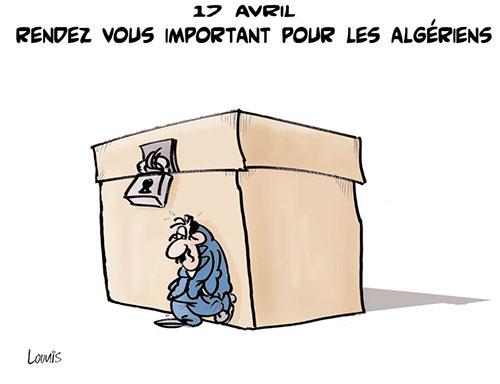 17 avril: Rendez vous important pour les algériens - Lounis Le jour d'Algérie - Gagdz.com