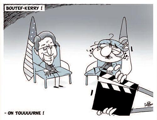 Boutef-Kerry - Vitamine - Le Soir d'Algérie - Gagdz.com