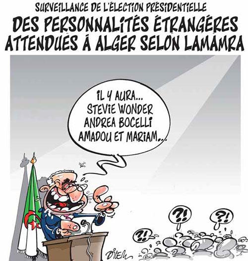 Surveillance de l'élection présidentielle: Des personnalités étrangères attendues à Alger selon Lamamra