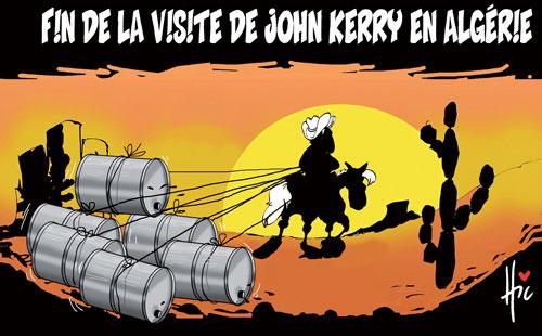 Fin de la visite de John Kerry en Algérie - Le Hic - El Watan - Gagdz.com