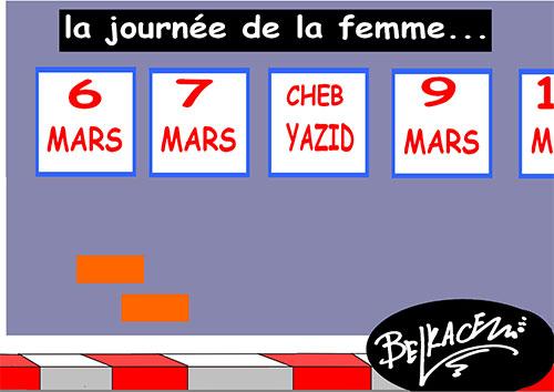 La journée de la femme - Belkacem - Le Courrier d'Algérie - Gagdz.com