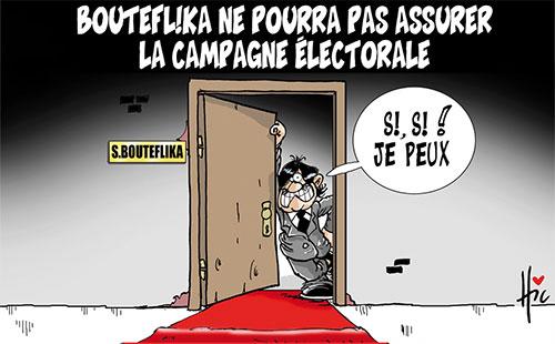 Bouteflika ne pourra pas assurer la campagne électorale - Le Hic - El Watan - Gagdz.com