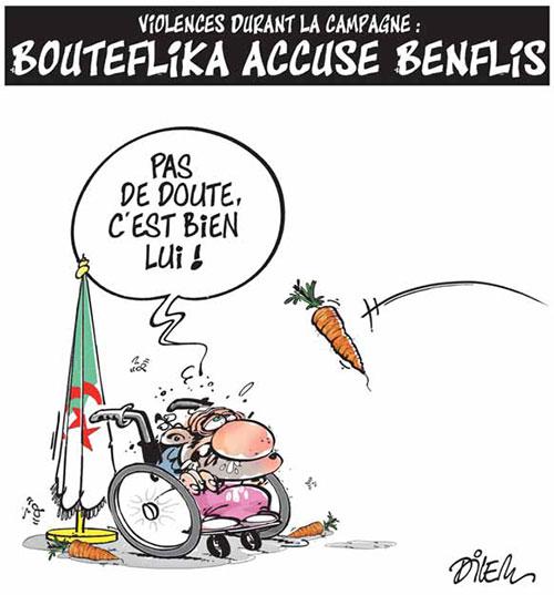 Violences durant la campagne: Bouteflika accuse Benflis