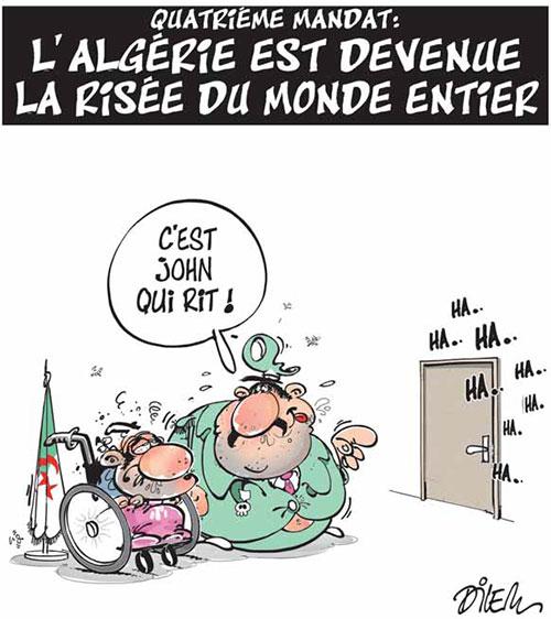 Quatrième mandat: L'Algérie est devenue la risée du monde entier