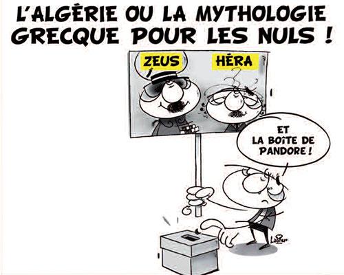 L'Algérie ou la mythologie greque pour les nuls
