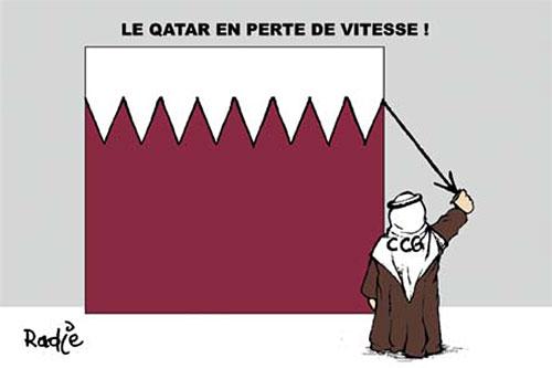 Le Qatar en perte de vitesse - Ghir Hak - Les Débats - Gagdz.com