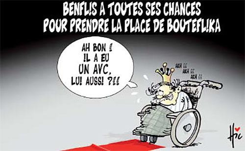 Benflis a toutes ses chances pour prendre la place de Bouteflika - Le Hic - El Watan - Gagdz.com