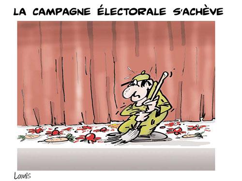 La campagne électorale s'achève - Lounis Le jour d'Algérie - Gagdz.com