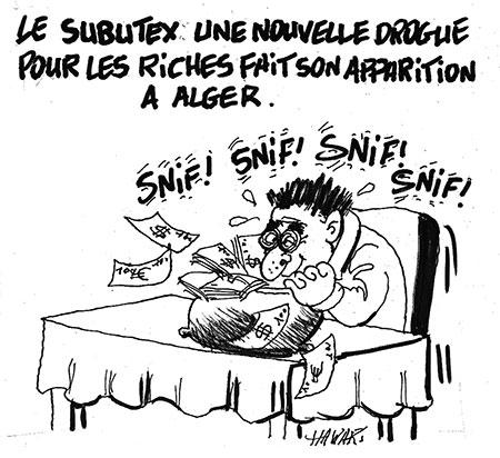 Le subutex fait son apparition à Alger - Hawari - La Tribune des Lecteurs - Gagdz.com