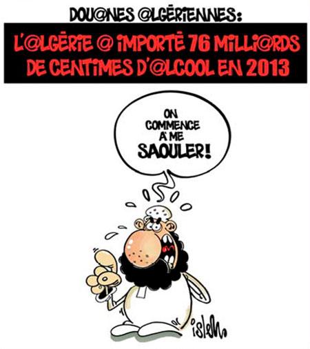 L'Algérie a importé 76 milliards de centimes d'alcool en 2013