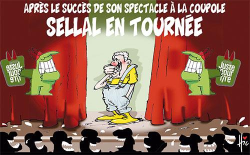Après le succès de son spectacle à la coupole: Sellal en tournée - Le Hic - El Watan - Gagdz.com