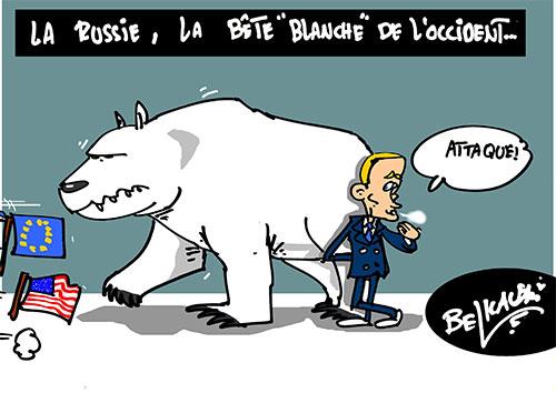 La Russie, la bête blanche de l'occident - Belkacem - Le Courrier d'Algérie - Gagdz.com