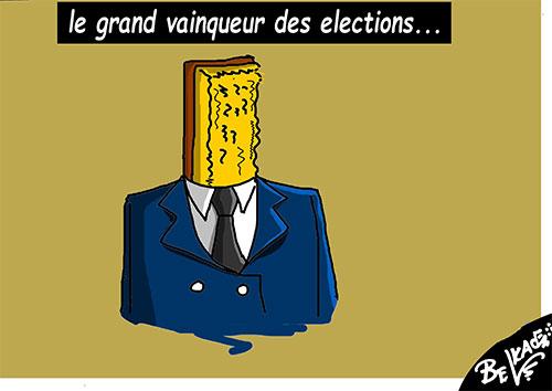 Le grand vainqueur des élections - Belkacem - Le Courrier d'Algérie - Gagdz.com