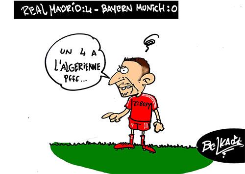 Real Madrid : 4 - Bayern Munich : 0 - Belkacem - Le Courrier d'Algérie - Gagdz.com