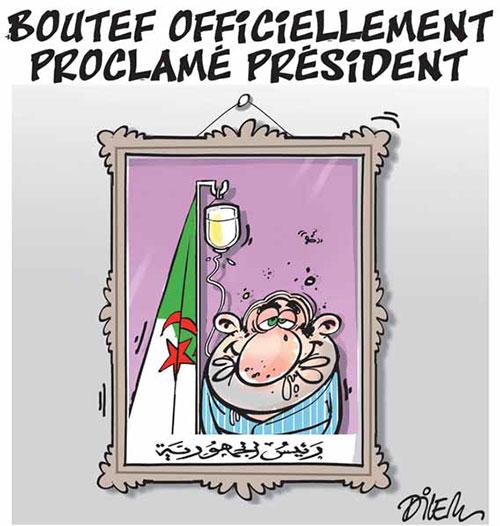 Boutef officiellement proclamé président