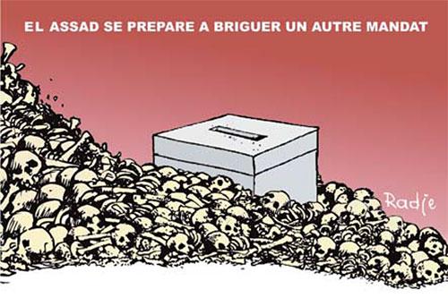 El Assad se prépare à briguer un autre mandat - Ghir Hak - Les Débats - Gagdz.com