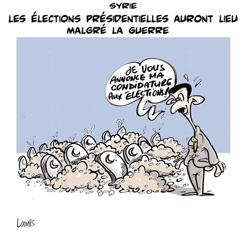Syrie: Les élections présidentielles auront lieu malgré la guerre