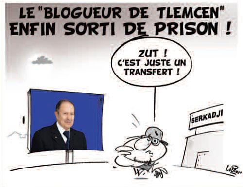 Le blogueur de Tlemcen enfin sorti de prison - Vitamine - Le Soir d'Algérie - Gagdz.com