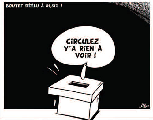 Boutef réélu à 81,51% - Vitamine - Le Soir d'Algérie - Gagdz.com