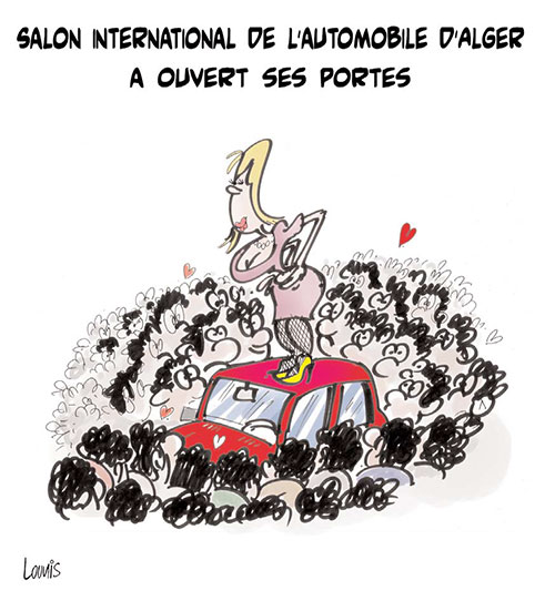Salon international de l 39 automobile d 39 alger ouvert ses - Salon international de l agroalimentaire ...