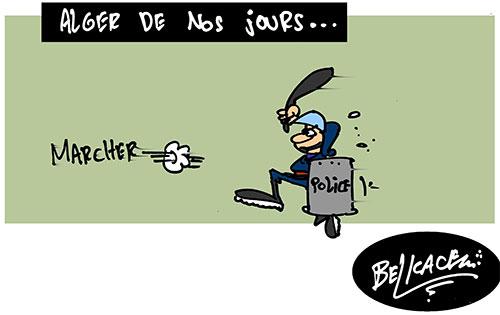 Alger de nos jours - Belkacem - Le Courrier d'Algérie - Gagdz.com