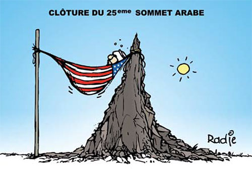 Clôture du 25 ème sommet arabe - Ghir Hak - Les Débats - Gagdz.com