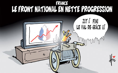France: Le front national en nette progression