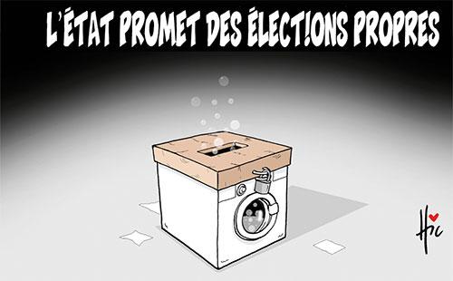 L'état promet des élections propres