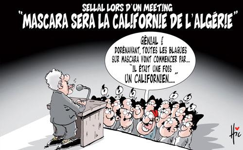 Sellal lors d'un meeting: Mascara sera la Californie de l'Algérie - Le Hic - El Watan - Gagdz.com