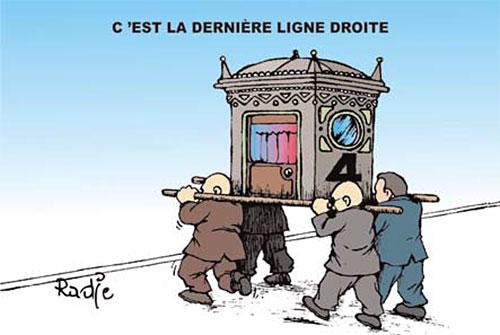 C'est la dernière ligne droite - Ghir Hak - Les Débats - Gagdz.com