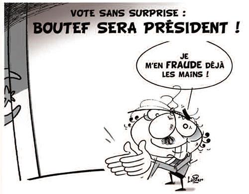 Vote sans surprise: Boutef sera président - Vitamine - Le Soir d'Algérie - Gagdz.com
