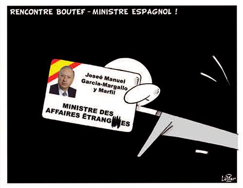 Rencontre Boutef - ministre espagnol - Vitamine - Le Soir d'Algérie - Gagdz.com