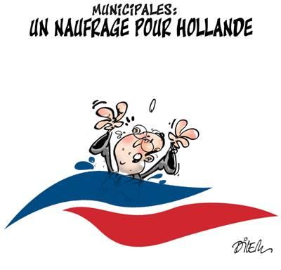 Municipales : un naufrage pour Hollande