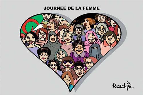 Journée de la femme - Ghir Hak - Les Débats - Gagdz.com