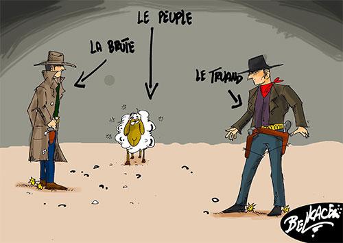 Le peuple la brute et le truand - Belkacem - Le Courrier d'Algérie - Gagdz.com