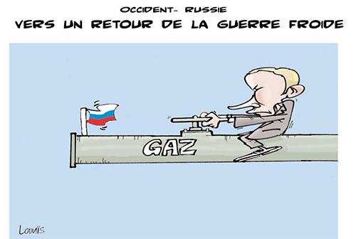 Occident - Russie: Vers un retour de la guerre froide - Lounis Le jour d'Algérie - Gagdz.com