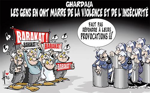 Ghardaia: Les gens en ont marre de la violence et de l'insécurité - Le Hic - El Watan - Gagdz.com