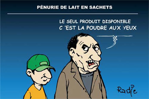 Pénurie de lait en sachets - Ghir Hak - Les Débats - Gagdz.com