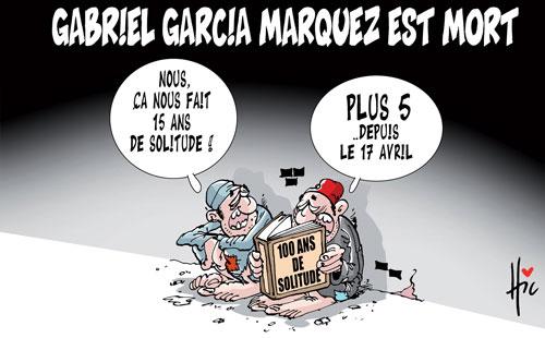Gabriel Garcia Marquez est mort - Le Hic - El Watan - Gagdz.com