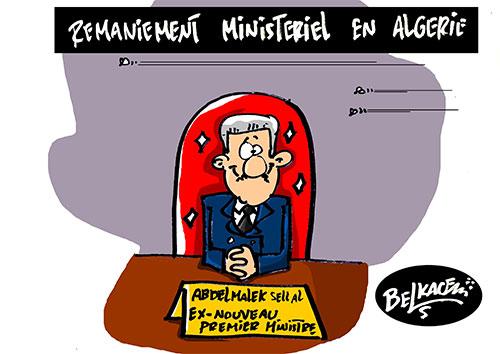 Remaniement ministeriel en Algérie - Belkacem - Le Courrier d'Algérie - Gagdz.com