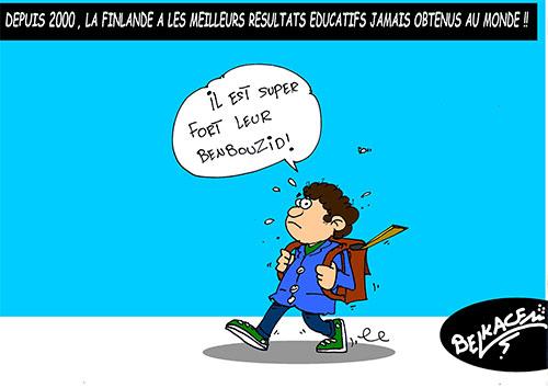Depuis 2000, la Finlande a les meilleurs résultats éducatifs jamais obtenus au monde - Belkacem - Le Courrier d'Algérie - Gagdz.com