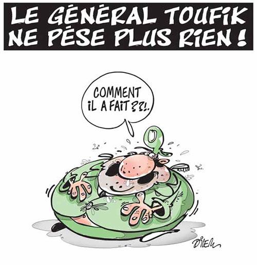 Le général Toufik ne pèse plus rien