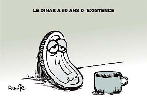 Le dinars a 50 ans d'existance - Ghir Hak - Les Débats - Gagdz.com