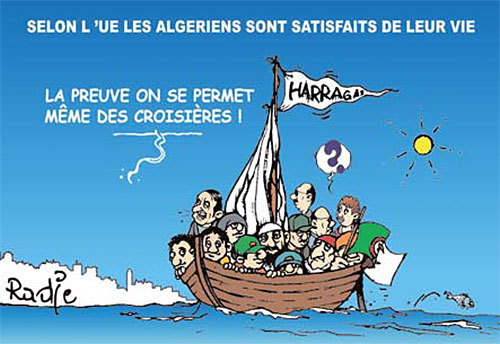 Selon l'UE, les Algériens sont satisfaits de leur vie - Ghir Hak - Les Débats - Gagdz.com