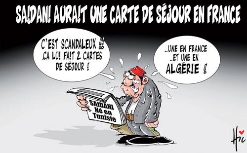 Saidani aurait une carte de séjour en France - Le Hic - El Watan - Gagdz.com