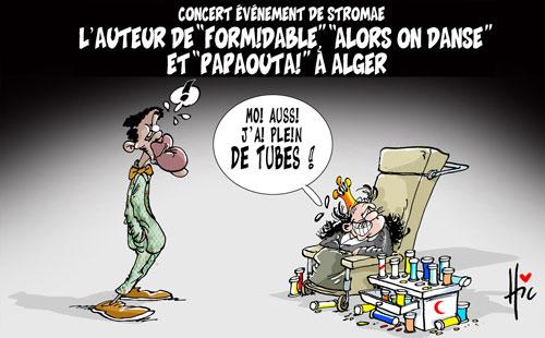 Concert évènement de Stromae: L'auteur de Formidable alors on danse et papaouta à Alger - Le Hic - El Watan - Gagdz.com