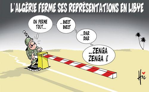L'Algérie ferme ses représentations en Libye - Le Hic - El Watan - Gagdz.com