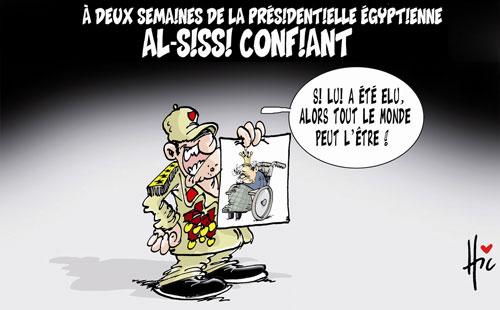A deux semaines de la présidentielle égyptienne: Al Sissi confiant - Le Hic - El Watan - Gagdz.com