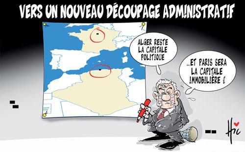 Vers un nouveau découpage administratif - Le Hic - El Watan - Gagdz.com